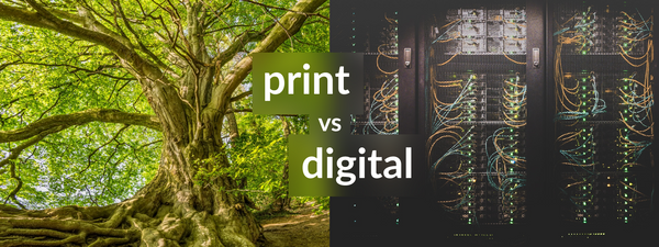 Print vs. Digital Media: False Dilemmas and Forced Choices